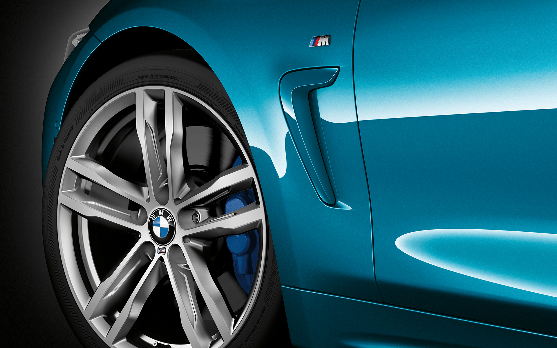 Logotipo lateral, BMW Serie 4 Coupé.