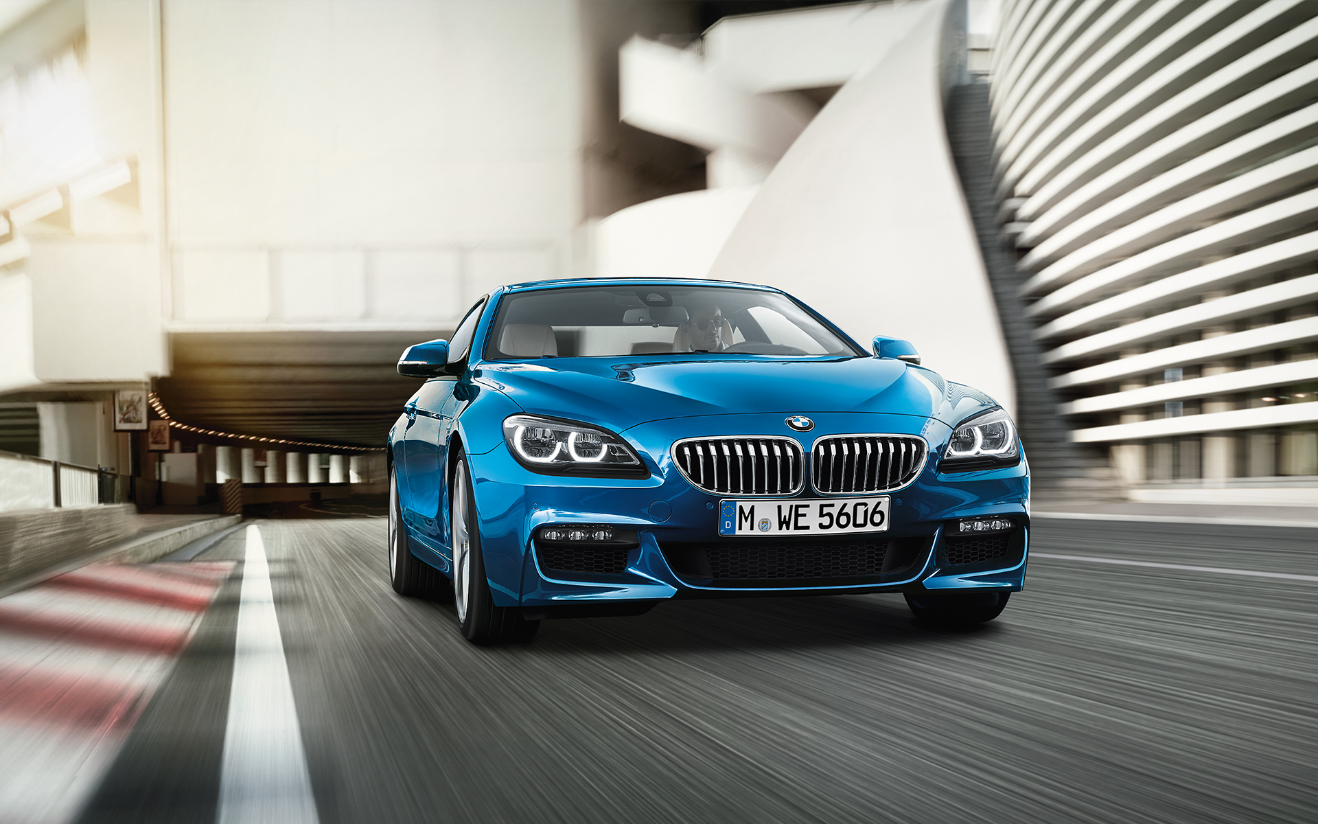 BMW Serie 6 Coupé, Vehículos exclusivos.